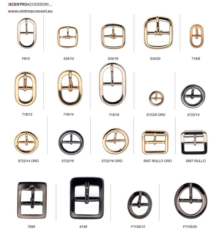 Fibbie in fusione, esempi. Cast buckles, examples. #CentroAccessori