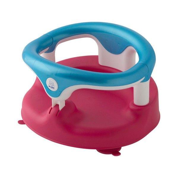 Informationen und Test des Rotho Babydesign Badewannensitz. Der Badesitz für Babys von ca. 7 bis 16 Monaten. Starke Saugfüße, aufklappbarer Ring und mehr.