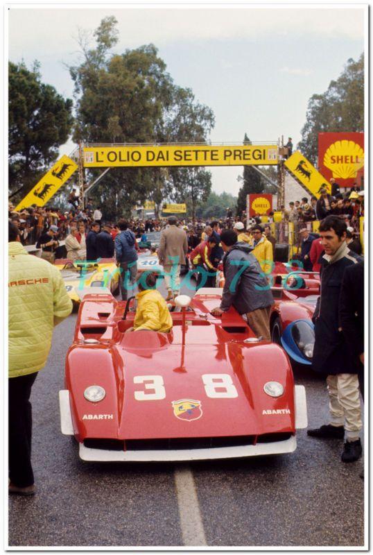 Toine Hezemans, Targa Florio, 1970. He won the race in 1971.