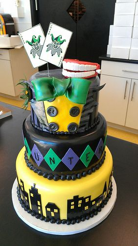 Batman, Joker cake birthday party