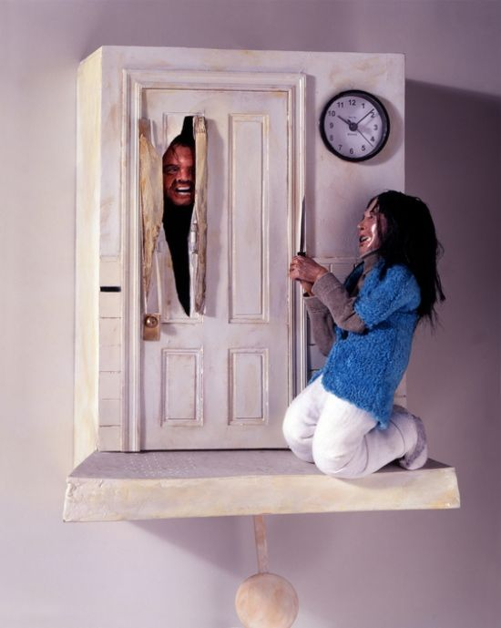The Shining Cuckoo Clock (by Chris Dimino)