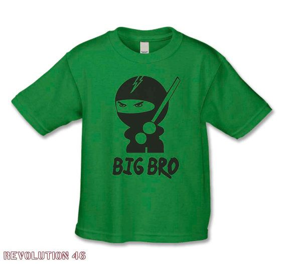 Big Brother  TShirt  The Ninja  Big Brother by REVOLUTION46R46, $17.00 This would be perfect for Ethan!