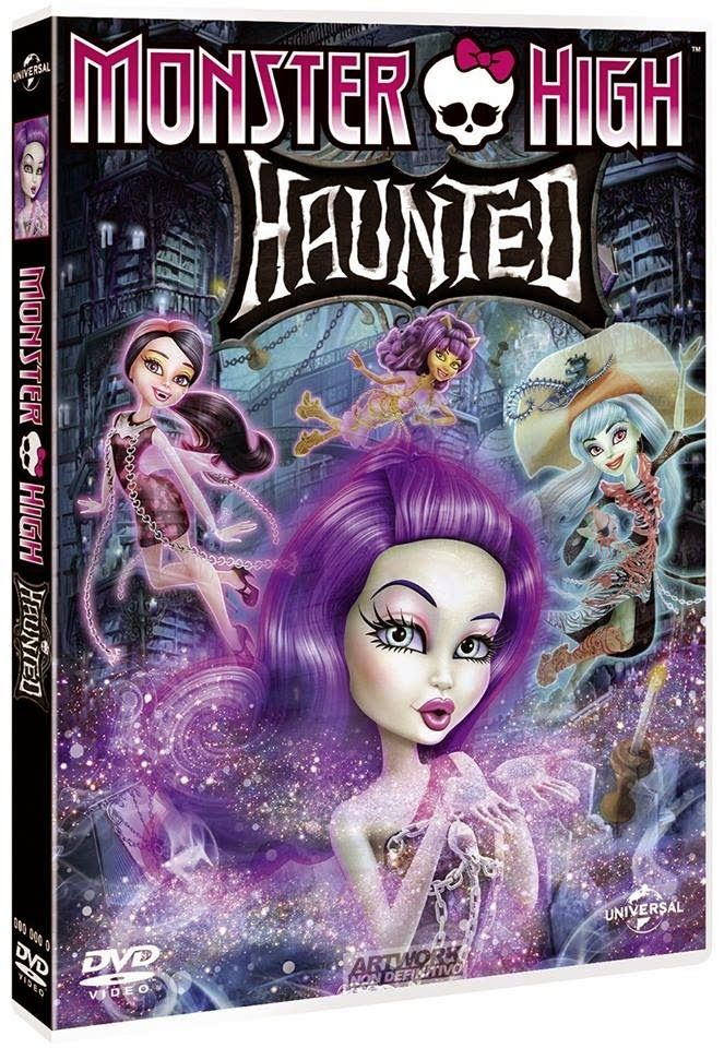 WANTED: Monster High Haunted DVD