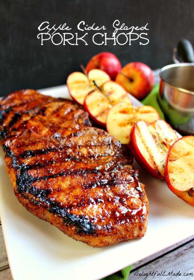 Apple Cider Glazed Pork Chops - WomansDay.com
