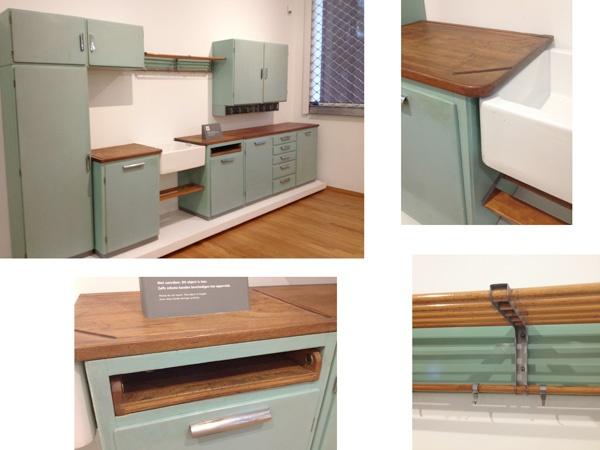 dutch kitchen - 1937 by Piet zwart for Bruynzeel @ gemeentemuseum, the Hague
