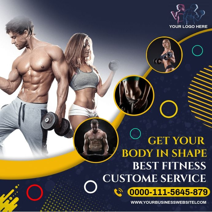 Gym Fitness In 2021 Fitness Flyer Gym Logo Fun Workouts