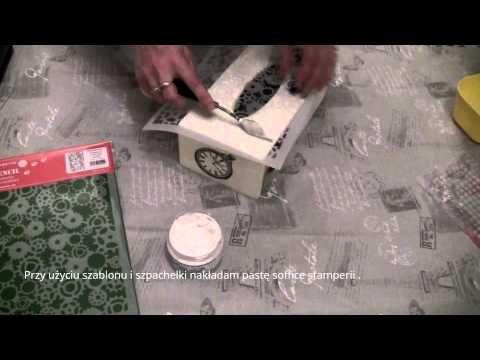 Transfer coral4u i chustecznik w stylu steampunk - YouTube