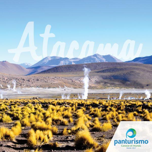 Sabías qué el desierto más árido del mundo se encuentra en Chile: Es el desierto de Atacama, con una superficie de 105.000 km².