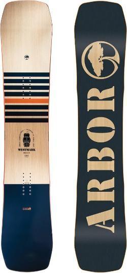 Arbor Men's Westmark Rocker Snowboard  158 Cm