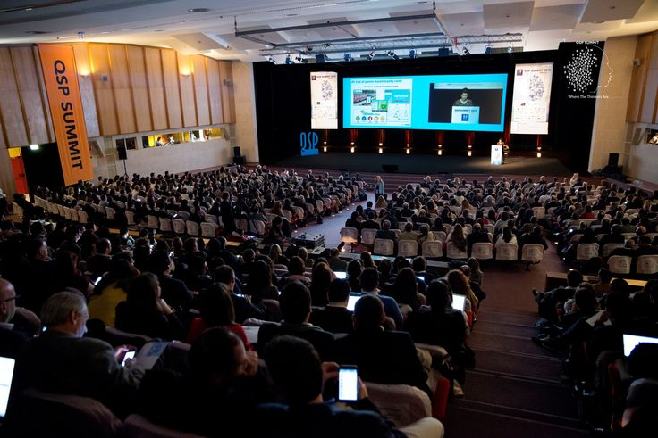 The auditorium of the Exponor Congress Centre was filled to receive the 9th edition of the QSP Summit. #qspsummit