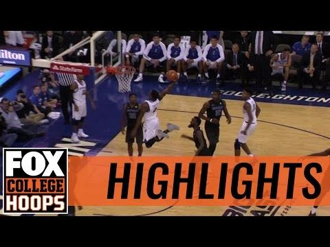 Marcus Foster throws down one-handed dunk on inbounds play | 2016 COLLEGE BASKETBALL HIGHLIGHTS