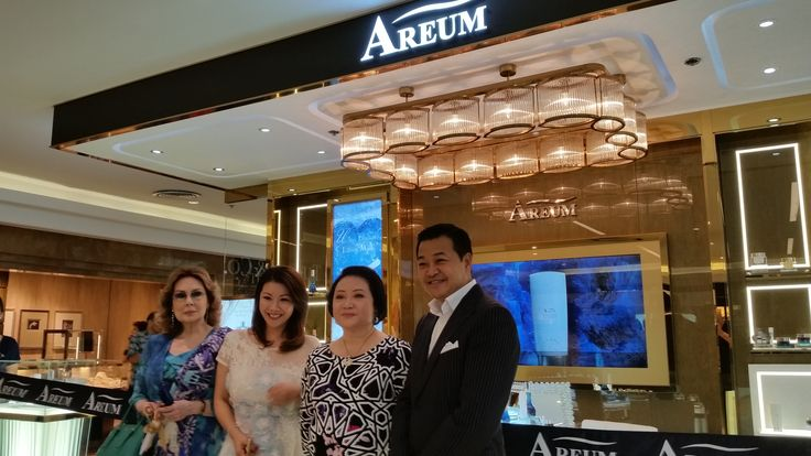 AREUM beauty counter is now available at Rustan's Department Store, Makati