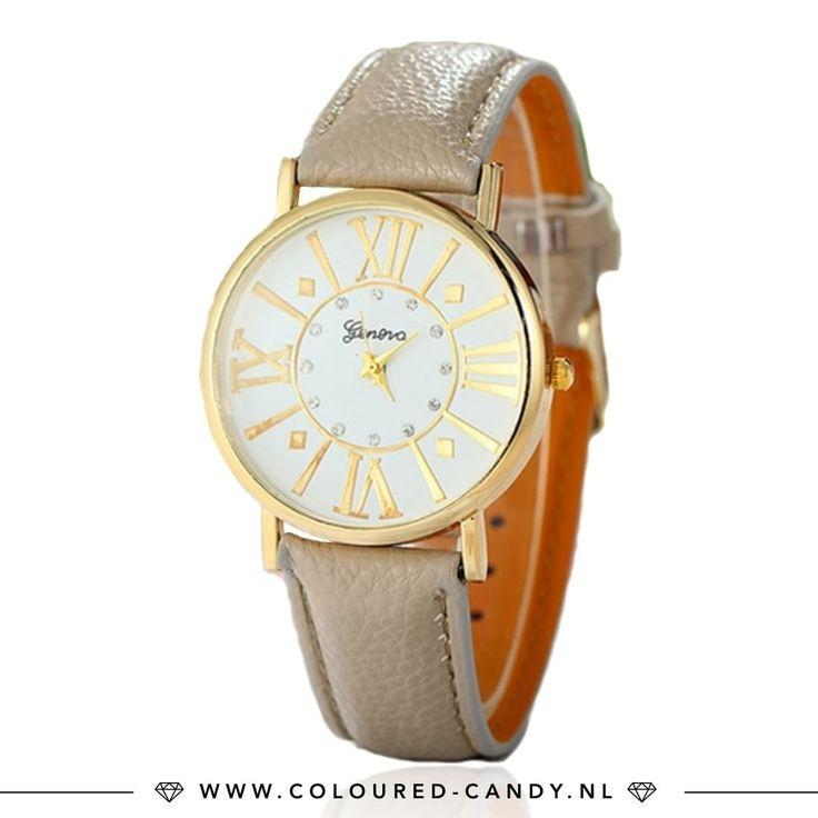 BASICS ➳ https://www.coloured-candy.nl/beige-geneva-horloge/ Combineer leuke armbandjes met dit basic en tijdloze horloge, altijd goed! ♡♡ #colouredcandy #sieraden #jewelry #sale #summer #jewellery #beige #basic #watch #trend #geneva #gold #fashion #mode #style #love #beauty #jewelrygram #fashionista #cute #girls #woman #trendy #beautiful #instagood #fashiongram #shopping #musthaves #bijoux #accessories