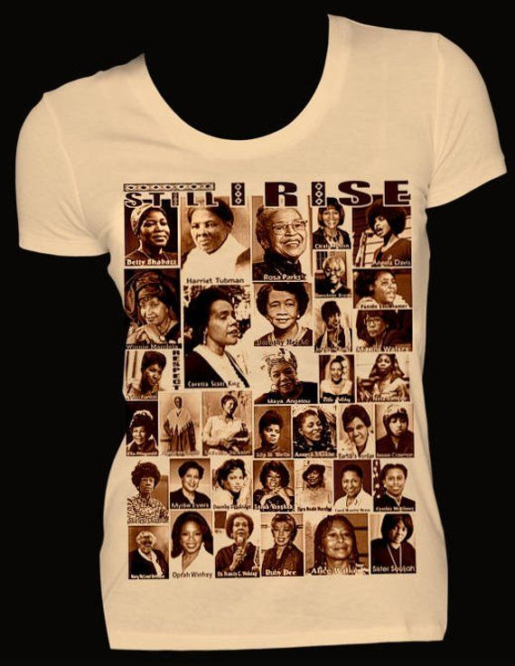 9511175f9b1f Black History Woman BH2560BD Ladies Fitted T-shirts. African American t- shirts