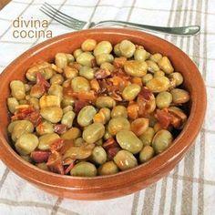 286 best recetas cocina images on pinterest kitchens for Como se cocinan las habas