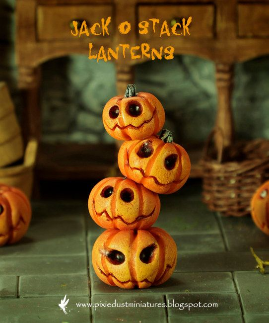 Jack O Stack Lanterns - HALLOWEEN RANGE. $45.00, via Etsy.