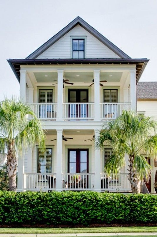 southern charm decorating inspired by the south - Beach Style Home Plans