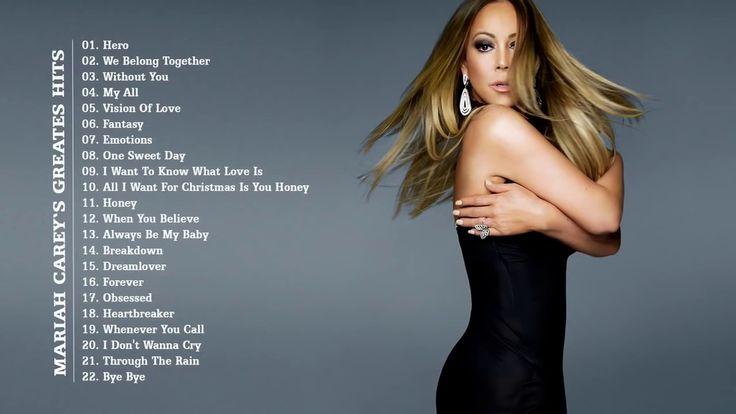Mariah Carey - Greatest Hits Album - The Best Of Mariah Carey