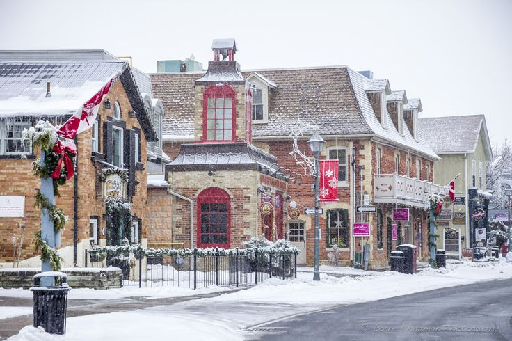 Unionville Canada...what a cute town