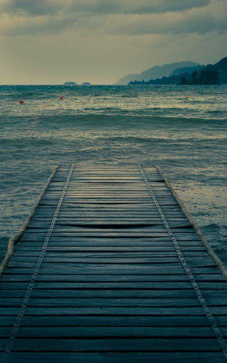 https://flic.kr/p/uwd8gq | Muelle al lago Calafquen