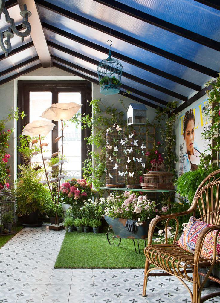 M s de 1000 ideas sobre jardines en el techo en pinterest - Invernadero en terraza ...