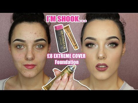 DERMACOL EXTREME COVER FOUNDATION | IT WILL CLEANSE YOUR SOUL ITS SO LIT - YouTube