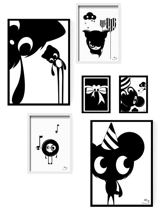 Black and white love! x