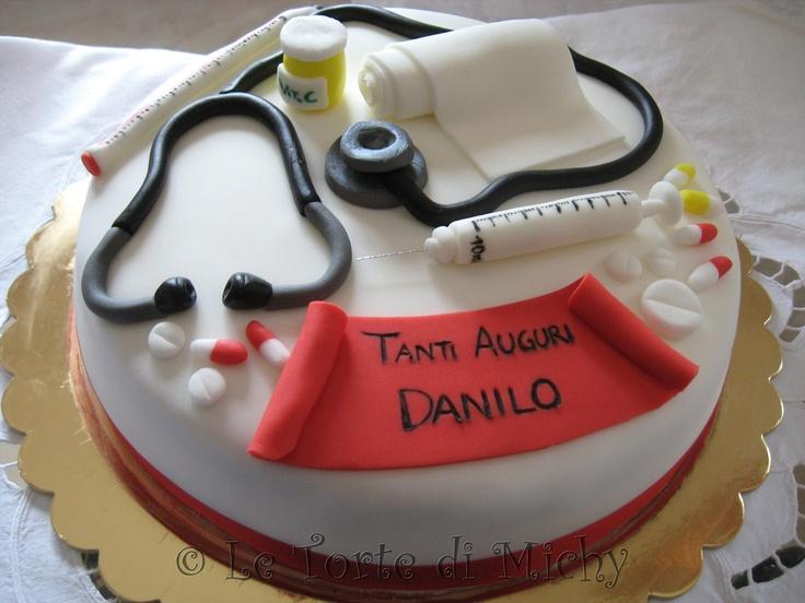 Torta Cake Design Dentista : Torta Laurea in Scienze Infermieristiche Le Torte di ...