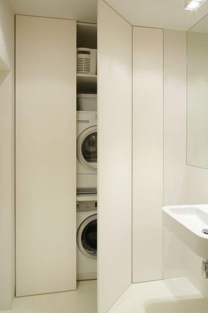 Łazienka z pralką: zobacz najlepsze pomysły na zabudowę  - zdjęcie numer 12