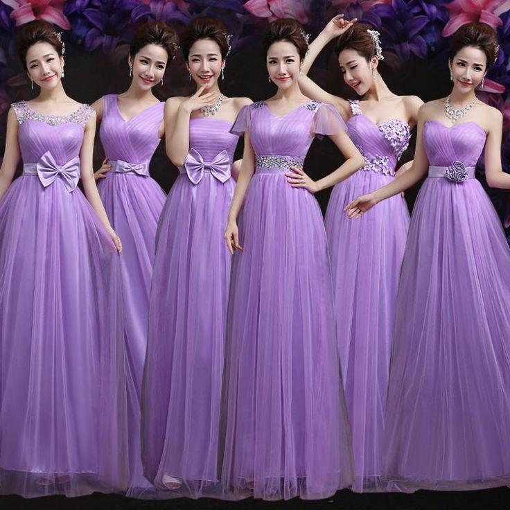 Mejores 41 imágenes de Wedding, Bridesmaids, Flower Girl Dresses en ...