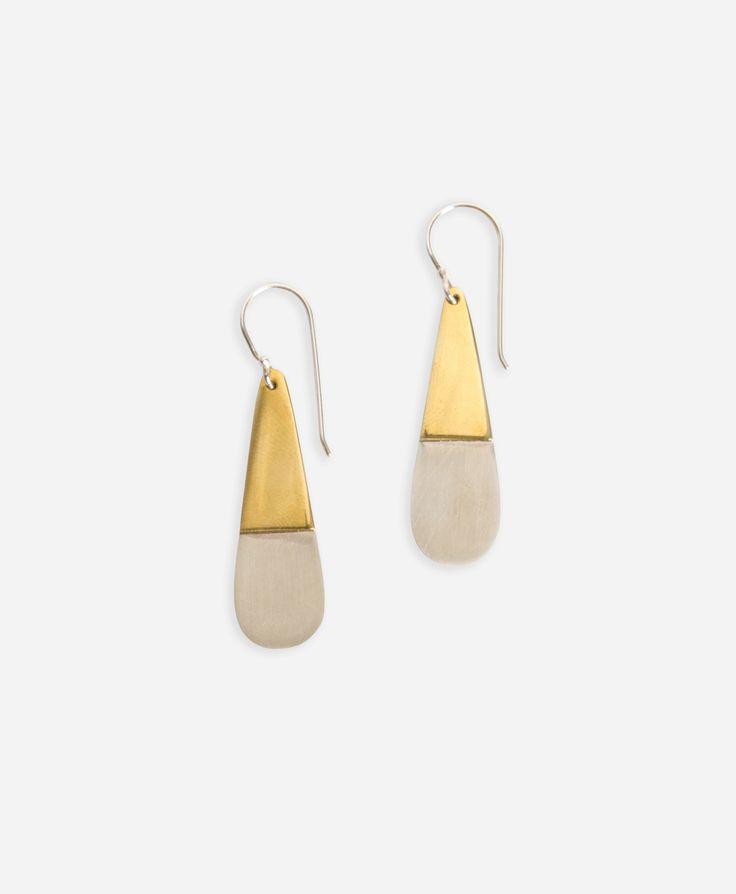 Metallic Teardrop Earrings - Noonday Collection