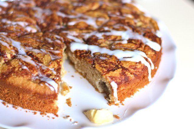 paleo apple spice coffee cake