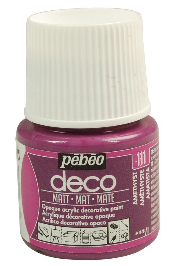 Details About Pebeo Deco Matt Multi Surface Craft Diy Acrylic Paint 45ml New 30 Colours Painting Plastic Deco Acrylic