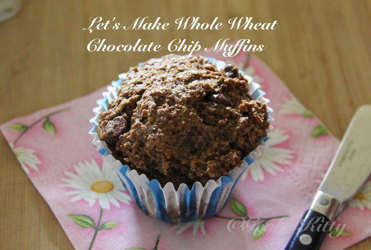Wheat Germ muffins recipe Vegan