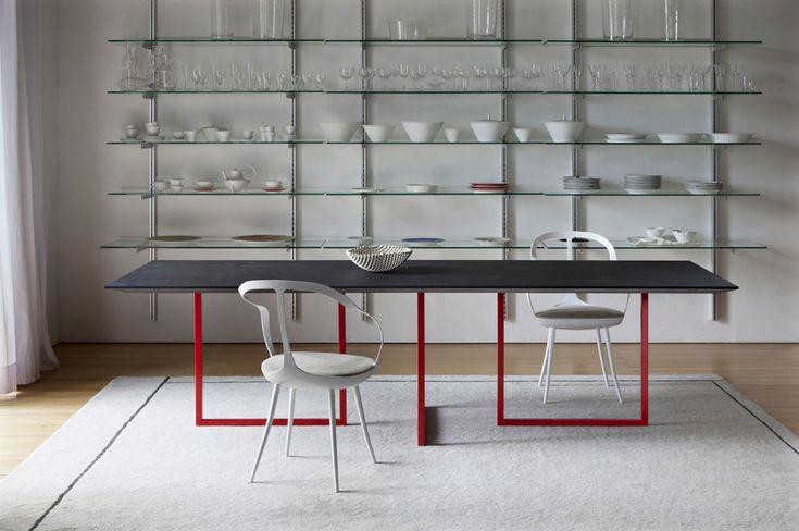 Awesome Concrete furniture: ideas for home decor, Gazelle table, Park Associati, Driade, 2012 |