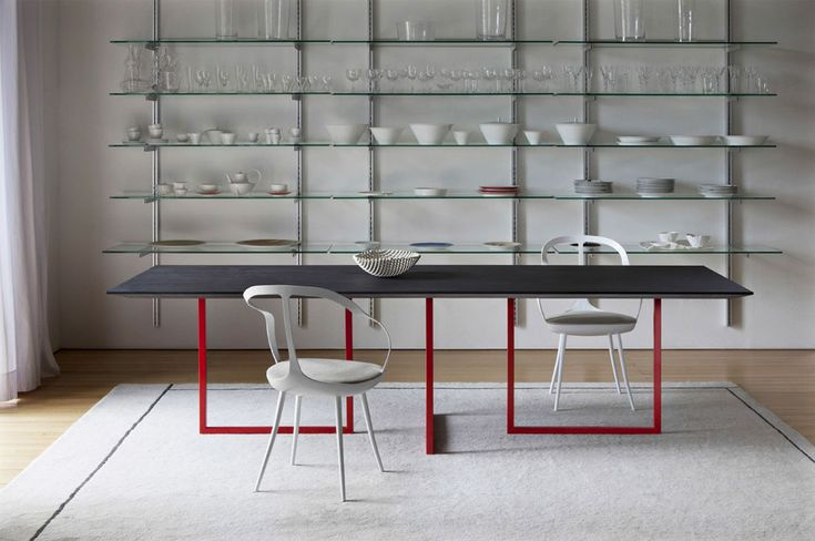 Awesome Concrete furniture: ideas for home decor, Gazelle table, Park Associati, Driade, 2012 |