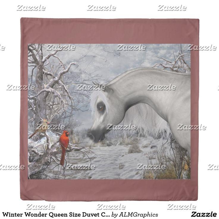 Winter Wonder Queen Size Duvet Cover
