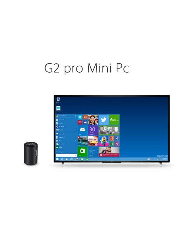 G2 Windows 10 Mini PC (Black)