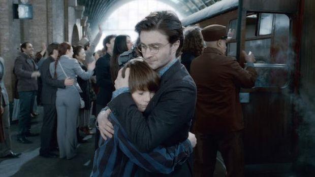 Harry Potter and son Albus Severus