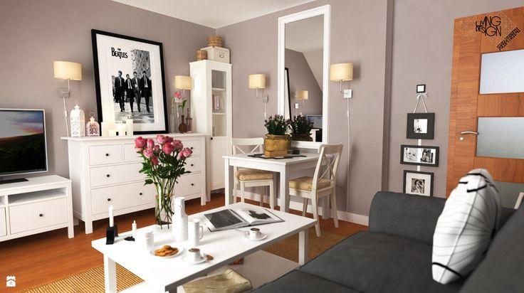 Lady in Grey... - zdjęcie od Pracownia projektowa: Living by Design - sztuka…