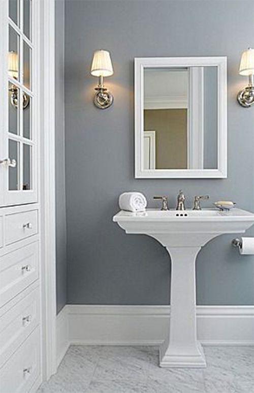 How To Paint your Bathroom #bathroom #bathroompainting #bathroomcolor #bathroomcombinations #pinkbathroom #bluebathroom #brightbathroom #graybathroom #yellowbathroom