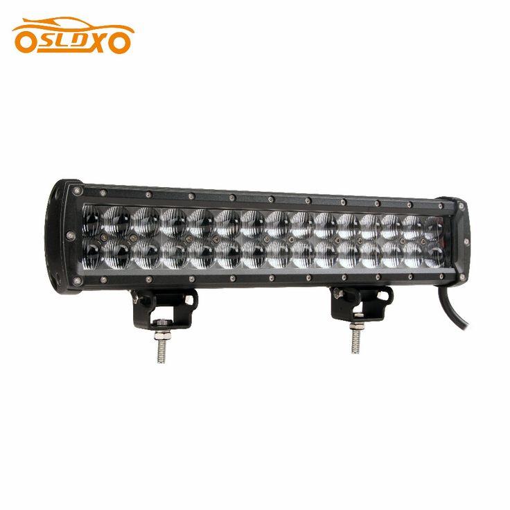 SLDX 14'' 90W 4D Led Light Bar SAE High Beam Pattern Off Road Light Bar 12V 24V 8100LM for Truck ATV SUV 4WD IP68