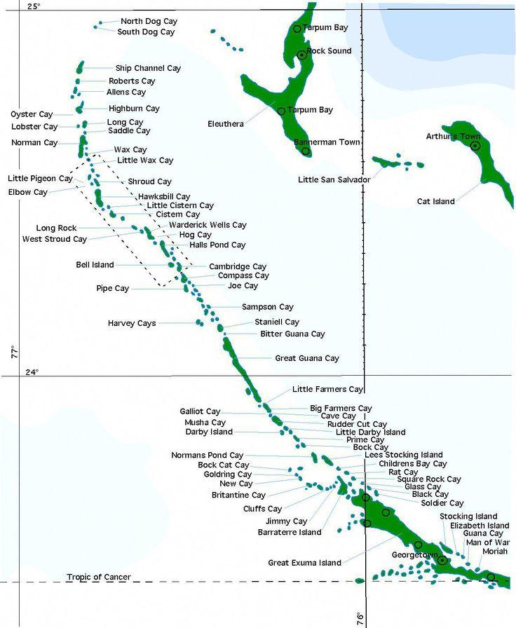 Exumamap2 bahamasabaco exuma bahamas exuma island