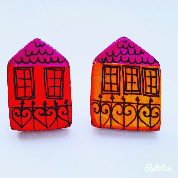 Aleksandra Ivanova jewelry,ring On wood panel with gesso painted with colored pencil #sofijafiligranska #illustration #house #brooch #earrings #jewellery #jewelry #contemporaryjewelry #joya #bijuteriecontemporana #bijoux #joyeriacontemporanea