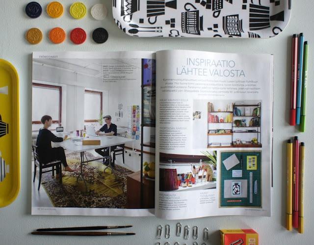 Polkka Jam was featured in Koti ja Keittiö- magazine's latest issue 9/2012.
