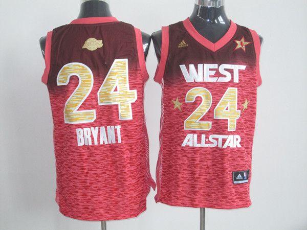 new concept 39b3e 9f635 Adidas NBA All Star 2012 24 Kobe Bryant Western Conference ...