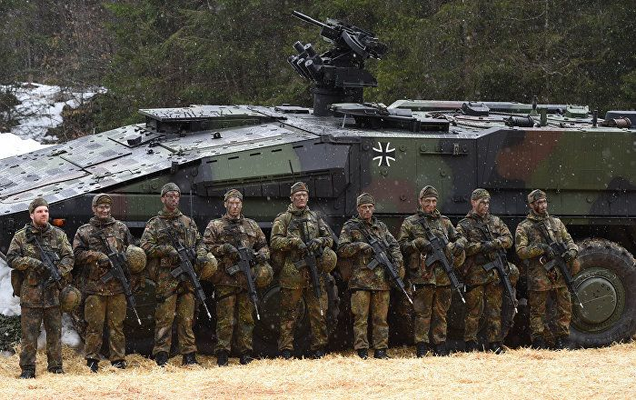 Germany Increasing Military Spending as 'It Can't Rely Only on US'