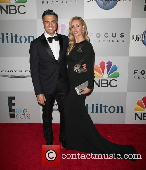 Picture - Jaime Camil and Heidi Balvanera at The Beverly Hilton Hotel in Beverly Hills Golden Globes Beverly Hilton Hotel Los Angeles California United States, Monday 12th January 2015 | Photo 4531165 | Contactmusic.com