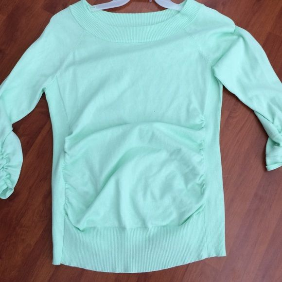MINT GREEN TOP ❤️❤️ Perfect condition.  Maybe worn once.  Mint green. one A Tops Blouses