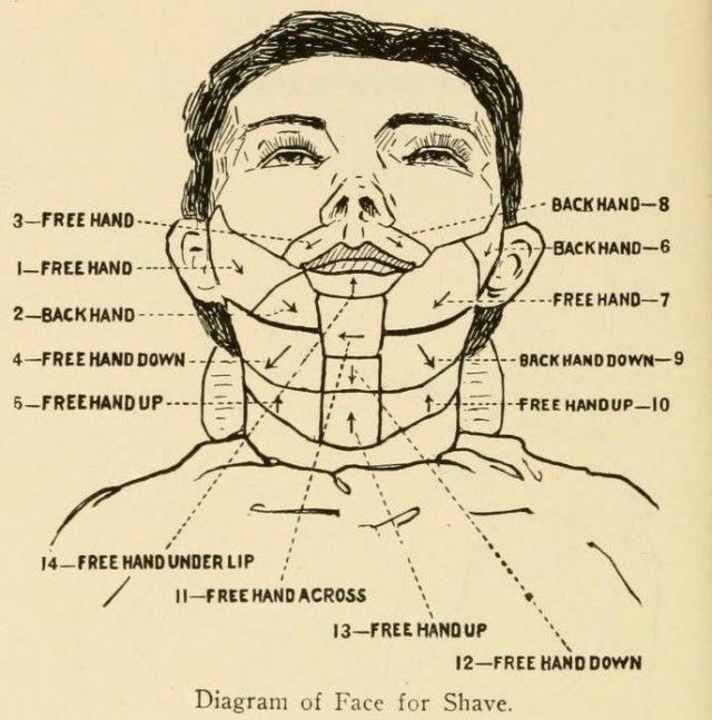 The Barber's Manual straight razor shave